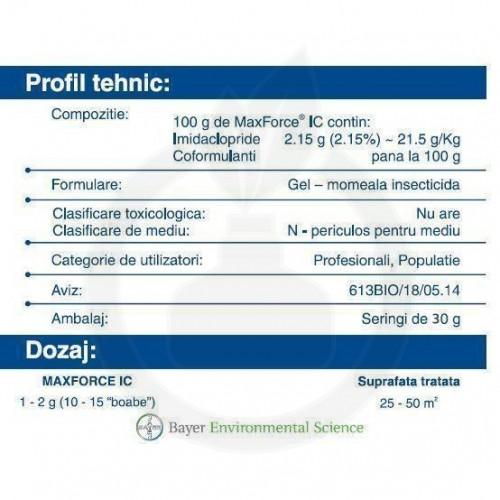 Max Force IC Gel, 30 g