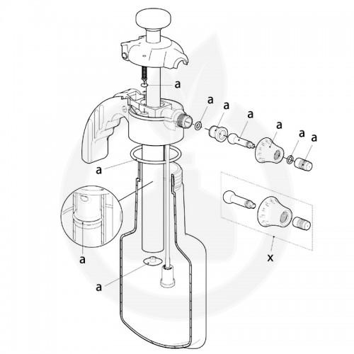 birchmeier aparatura pulverizator super star 1.25 - 10