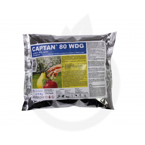 arysta lifescience fungicid captan 80 wdg 1 kg - 1