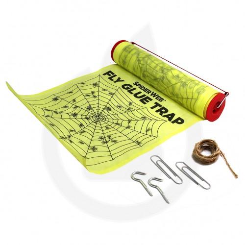 catchmaster capcana spiderweb adeziv muste - 2