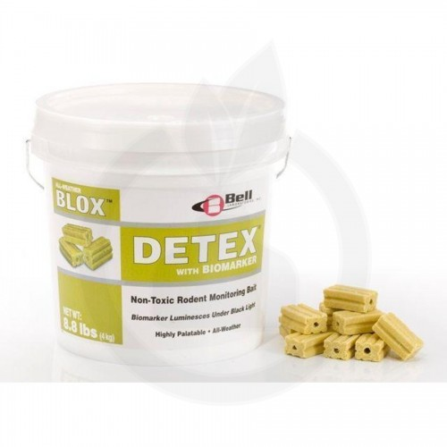 Detex Blocks, atractant rozatoare, 4 kg