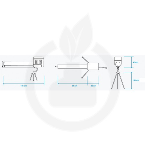 gepaval repelent guardian 2 single rotary tun anti pasari - 3