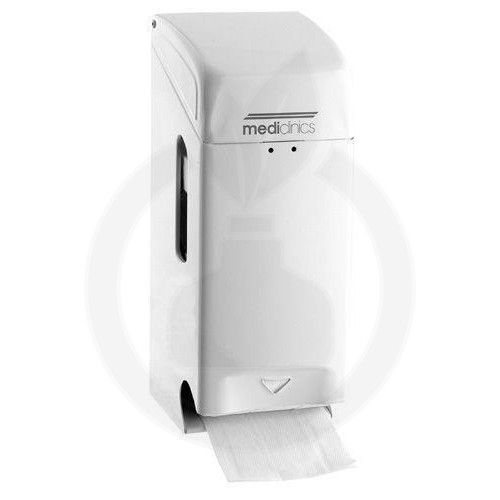 Dispenser Hartie Igienica 2 role metal alb