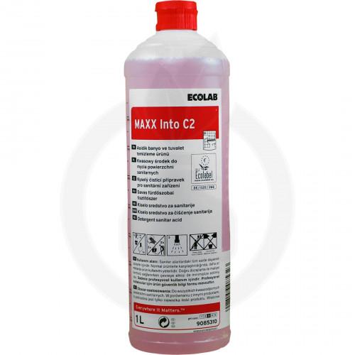 ecolab detergent maxx2 into c 1 l - 1