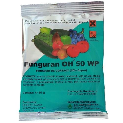 Funguran OH 50 WP, 30 g