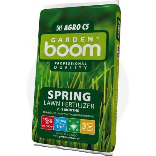 Ingrasamant gazon Garden Boom Spring 25-05-12+3MgO, 15 kg