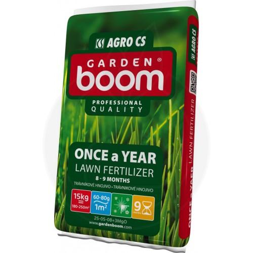 Ingrasamant gazon Garden Boom Once a year 25-05-08+3MgO, 15 kg