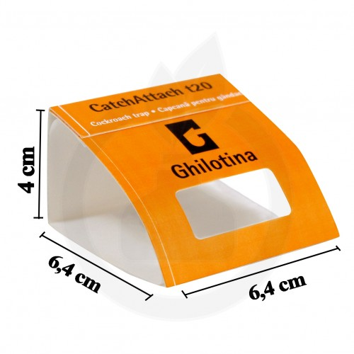 Ghilotina t20 CatchAttach, adeziv gandaci, set 3 bucati