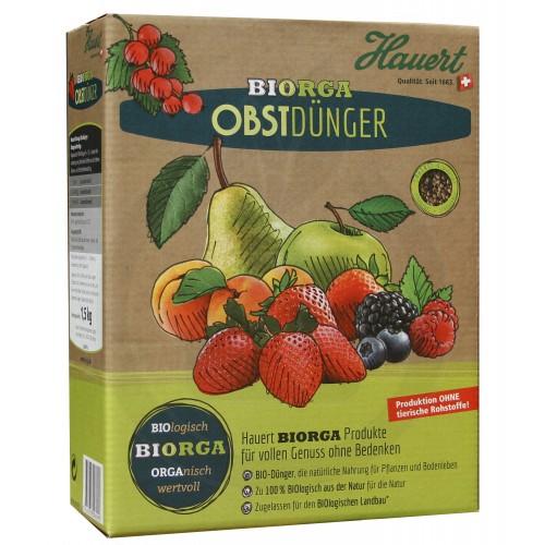 Ingrasamant organic fructe Hauert, 1.5 kg