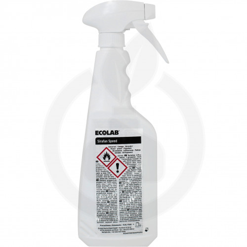 ecolab disinfectant sirafan speed 750 ml - 3