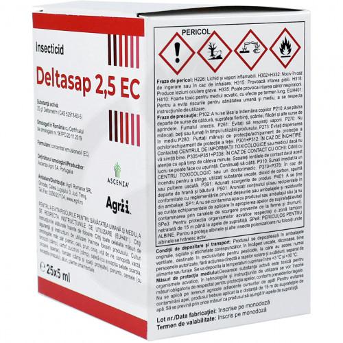 ascenza insecticide crop deltasap 2 5 ec 5 ml - 5