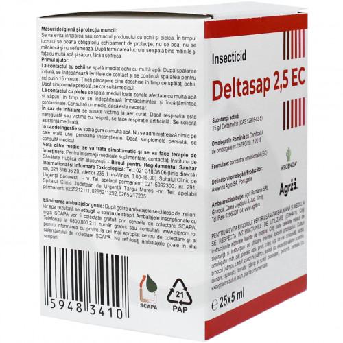 ascenza insecticide crop deltasap 2 5 ec 5 ml - 4