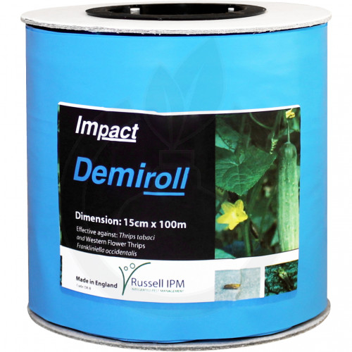 russell ipm pheromone optiroll blue glue roll 15 cm x 100 m - 1