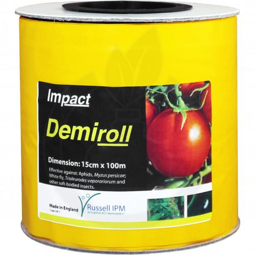 russell ipm pheromone optiroll yellow glue roll 15 cm x 100 m - 1