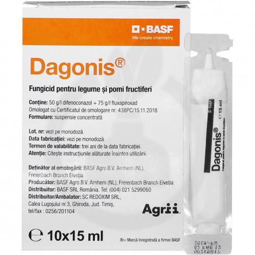 basf fungicide dagonis 15 ml - 1