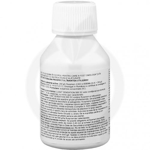 bayer fungicide luna sensation 500 sc 100 ml - 2