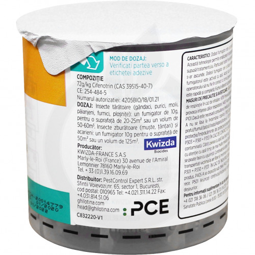 ghilotina insecticide i7 2 dobol fumigator 10 g - 2