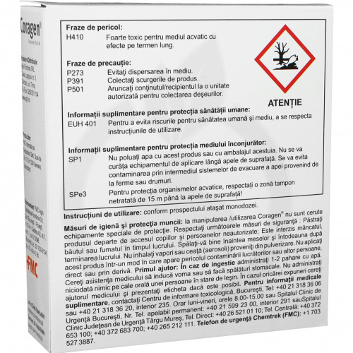 dupont insecticid agro coragen 20 sc 25 ml - 4