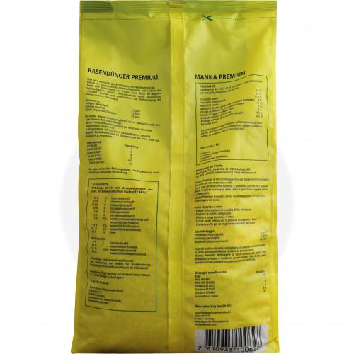 hauert fertilizer manna lawn fertilizer premium 2 kg - 2