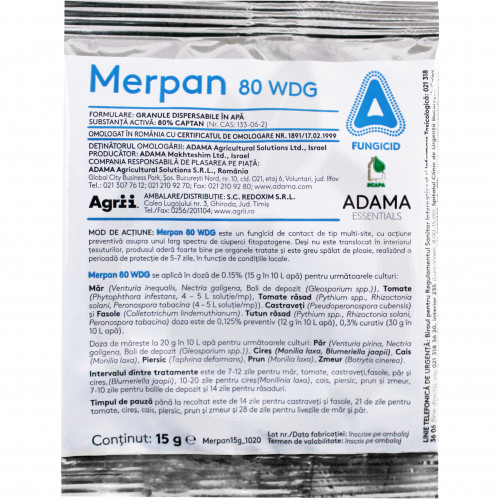 Merpan 80 WDG, plic 15 g