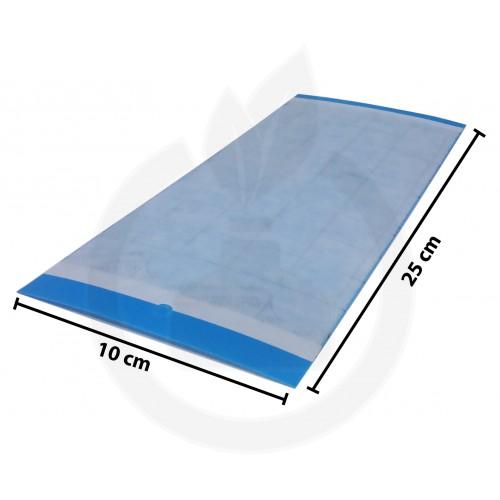 Impact Blue, 10 x 25 cm