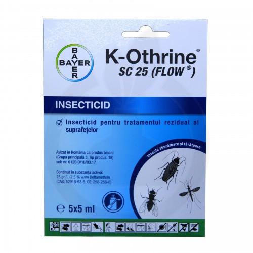 K-Othrine SC 25, set cu 5 fiole