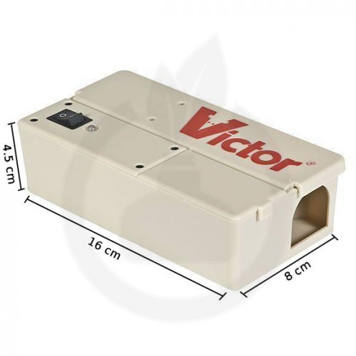 Victor Electronic M250pro, capcana soareci