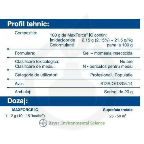 MaxForce IC gel, 20 g cutie