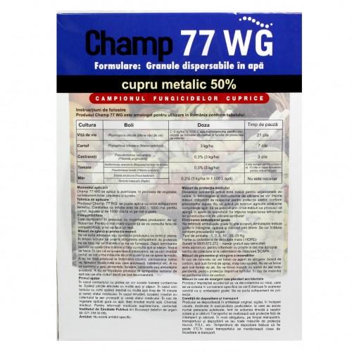 nufarm fungicid champ 77 wg 1 kg - 2
