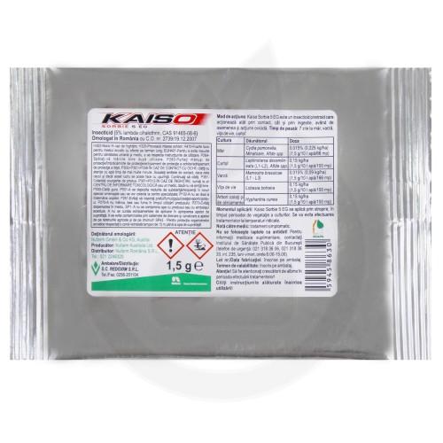 nufarm insecticid agro kaiso sorbie 5 wg 1.5 g - 3