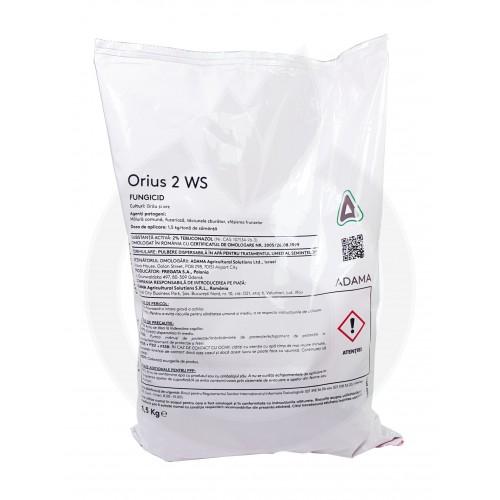 Orius 2 WS, punga 1,5 kg