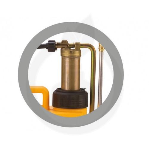 Pulverizator manual Volpi UNI 15L cu pompant cupru