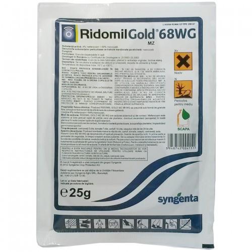syngenta fungicid ridomil gold mz 68 wg 25 g - 3