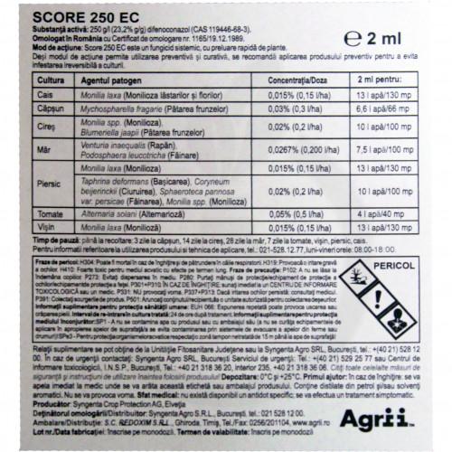 syngenta fungicid chorus 50 wg 1 kg score 250 ec 0.5l - 1