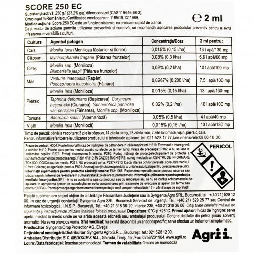 Score 250 EC, 50 ml