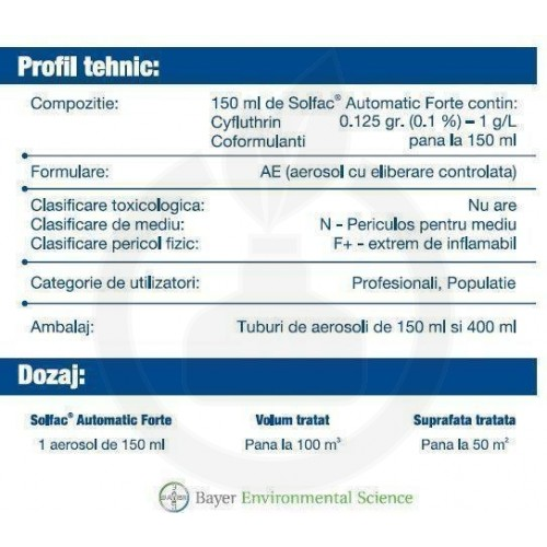 Solfac Automatic Forte, 150 ml