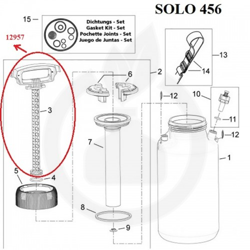 SOLO Maner pompant - 12957
