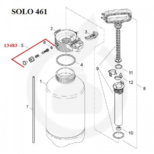 SOLO Supapa presiune - 13483