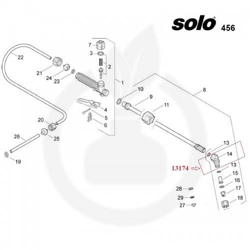 SOLO Cot duza pulverizare - 13174