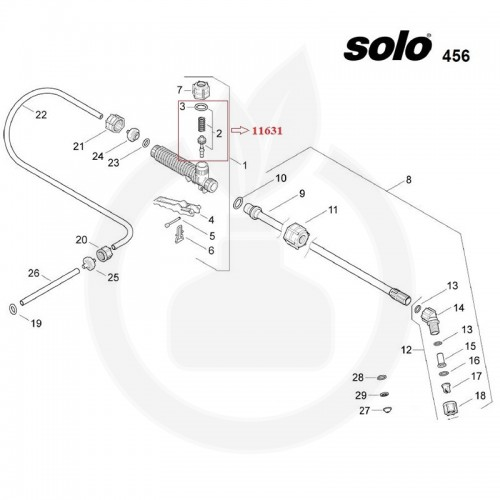 SOLO Kit reparatie maner - 11631