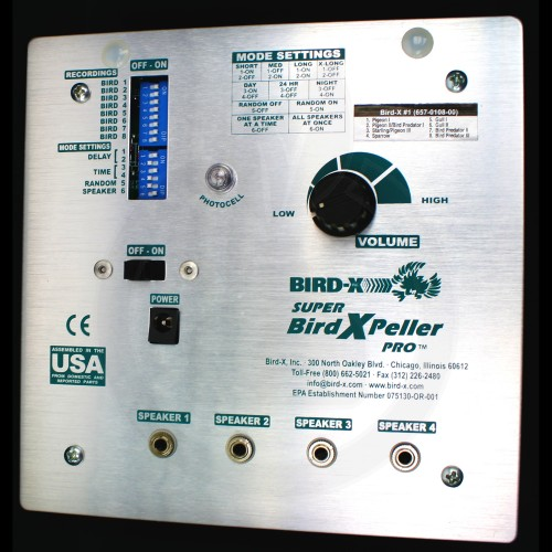 Super Bird X Peller PRO V1, repelent pasari