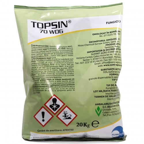 nippon soda fungicid topsin 70 wdg 20 kg - 1