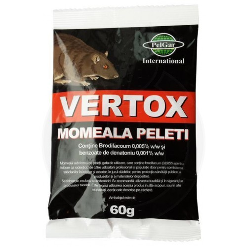 Vertox Momeala Peleti, 60 g