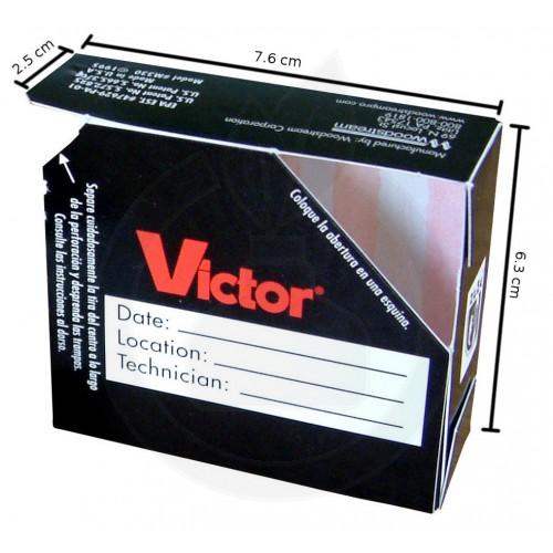 Victor M330, adeziv gandaci, set 2 capcane