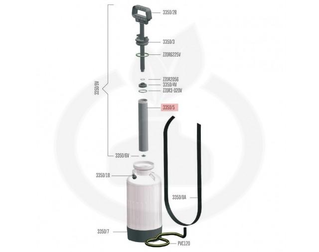 volpi consumabil cilindru volpi tech 6/10 3350/5 - 1