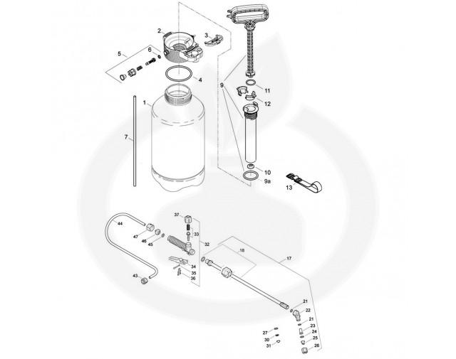 solo aparatura pulverizator 462 - 1