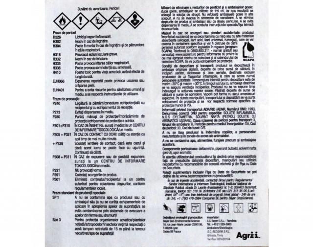 bayer insecticid k obiol ec 25 10 ml - 3