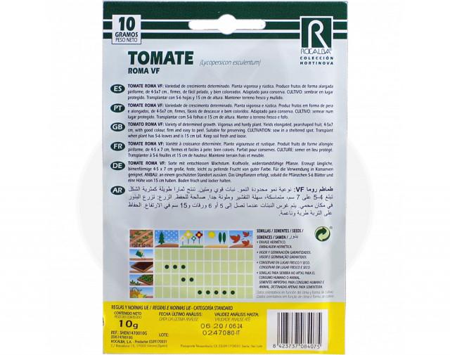 rocalba seed tomatoes roma vf 100 g - 2