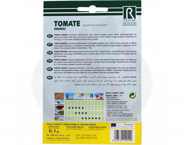 rocalba seed tomatoes ananas 0 1 g - 1