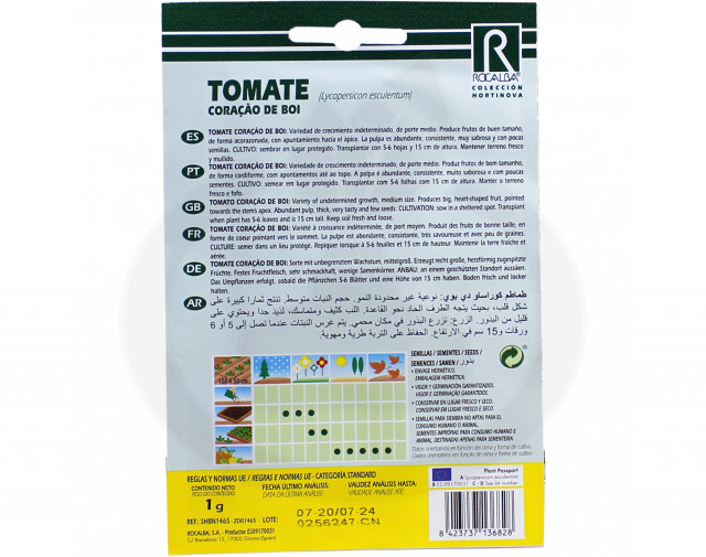 rocalba seed tomatoes coracao de boi 1 g - 2